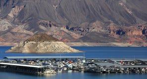 El lago Mead Imagen de archivo libre de regalías