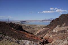 El lago Mead, parque de estado, Nevada Imagen de archivo