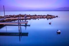 El lago mirror's Fotos de archivo