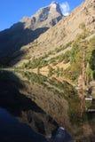 El lago mountain Fotografía de archivo