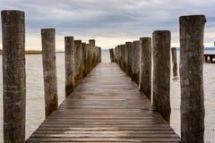 El lago Neusiedl, Neusiedler ve, Austria Fotos de archivo