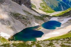 El lago Pilato Imágenes de archivo libres de regalías