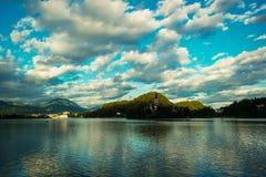 El lago sangró Fotografía de archivo