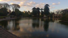 El lago se relaja Foto de archivo libre de regalías