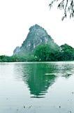 El lago star Foto de archivo