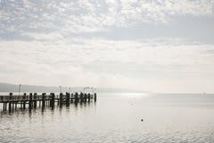 El lago Starnberg en Alemania Foto de archivo libre de regalías
