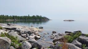 El lago Superior Fotografía de archivo libre de regalías