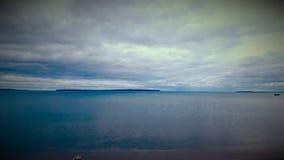 El lago Superior Imagen de archivo libre de regalías