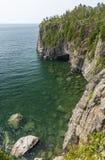 El lago Superior Cliff Scenic Imagen de archivo