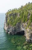 El lago Superior Cliff Scenic Fotografía de archivo