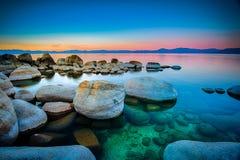 El lago Tahoe Imagen de archivo libre de regalías