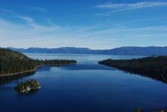 El lago Tahoe, California Foto de archivo libre de regalías