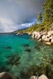 El lago Tahoe del norte Foto de archivo