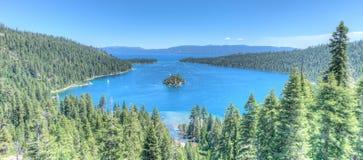 El lago Tahoe Emerald Bay Fotografía de archivo libre de regalías