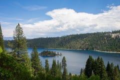 El lago Tahoe - Emerald Bay Fotografía de archivo libre de regalías