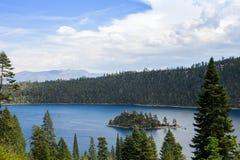 El lago Tahoe - Emerald Bay Fotos de archivo libres de regalías