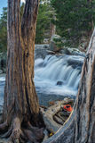 El lago Tahoe en octubre Imagen de archivo