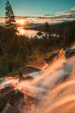El lago Tahoe hermoso California imágenes de archivo libres de regalías