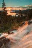 El lago Tahoe hermoso California fotos de archivo libres de regalías