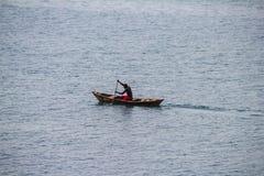 El lago Tanganica en Burundi Imágenes de archivo libres de regalías