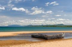El lago Tanganica, Tanzania Fotos de archivo libres de regalías