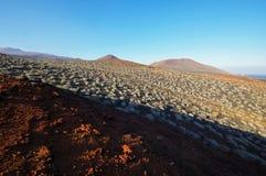 El Lajial - El Hierro, Канарские острова Испания Стоковое фото RF