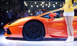 El Lamborghini Foto de archivo libre de regalías
