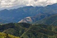 El Lanscape magnífico en Luang Prabang, Laos Fotos de archivo libres de regalías