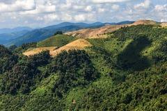 El Lanscape magnífico en Luang Prabang, Laos Foto de archivo libre de regalías