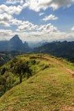 El Lanscape magnífico en Luang Prabang, Laos Imagenes de archivo