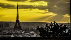 El lapso de tiempo de coloca Vendome en París almacen de video
