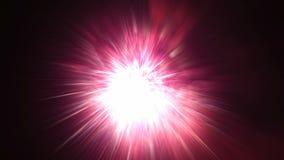 El lapso de tiempo ultra alto de la definición 4k de fuegos artificiales con la luz colorida de los efectos especiales estalla el almacen de metraje de vídeo