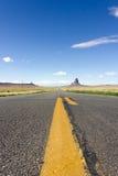El largo camino Imagenes de archivo
