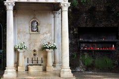 El Largo DA Fonte, fuente de la Virgen, Monte Fotos de archivo libres de regalías