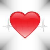 El latido del corazón Fotos de archivo libres de regalías