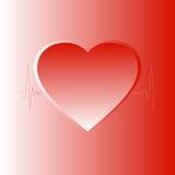 El latido del corazón Fotografía de archivo