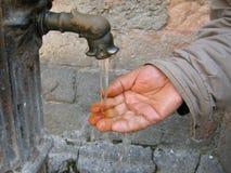 El lavarse de las manos Imagenes de archivo