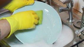 El lavarse encima de los platos metrajes