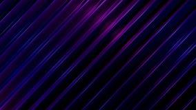 El lazo 3D rinde de líneas que brillan intensamente diagonales metrajes