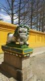 El león de dios Foto de archivo