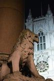 El león de piedra Imagenes de archivo