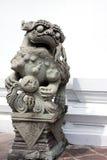 El león de piedra Fotos de archivo