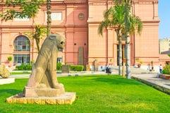 El león de piedra Fotografía de archivo libre de regalías