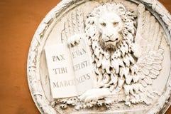 El león de Venecia fotos de archivo