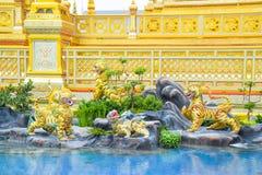 El león en el cuento de hadas de Asia 171105 0254 fotos de archivo libres de regalías