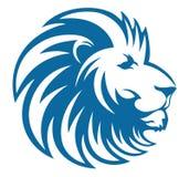El león principal se refresca ilustración del vector