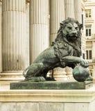 El lew kongres delegaci w Madryt obraz royalty free