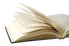 El libro abierto Fotografía de archivo