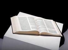 El libro abierto Imágenes de archivo libres de regalías