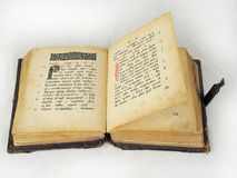 El libro antiguo Foto de archivo